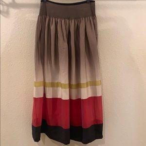 Anthropologie Maple Maxi Skirt - Size L